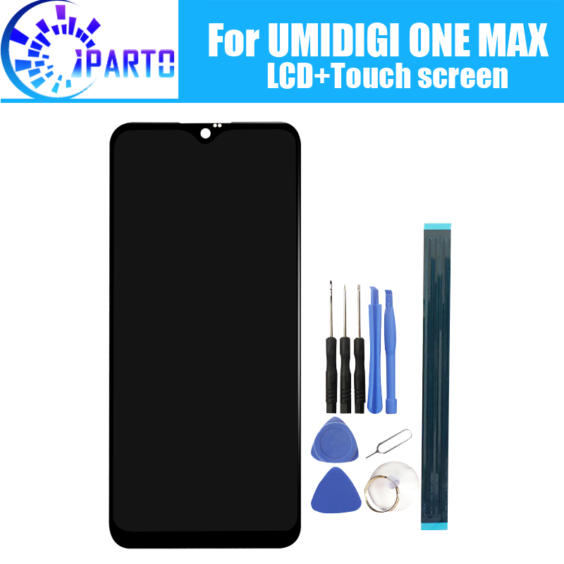 6.3 inch UMIDIGI ONE MAX LCD Display+Touch Screen 100% Original Tested LCD Digitizer Glass Panel Replacement For UMIDIGI ONE MAX-in Mobile Phone LCD Screens from Cellphones & Telecommunications