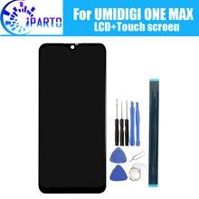 6.3 インチ umidigi 1 最大の lcd ディスプレイ + タッチスクリーン、 100% オリジナルのテスト液晶スクリーンデジタイザガラスパネルの交換 umidigi 1 最大