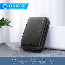 ORICO HDD коробка для хранения EVA водонепроницаемый кабель зарядное устройство аксессуары защитный Портативный чехол для хранения коробка большой емкости чехол