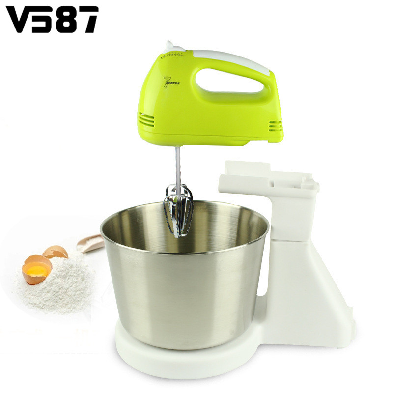 Electric Mixer Beaters ~ V speed electric eggs stand mixer hand countertop
