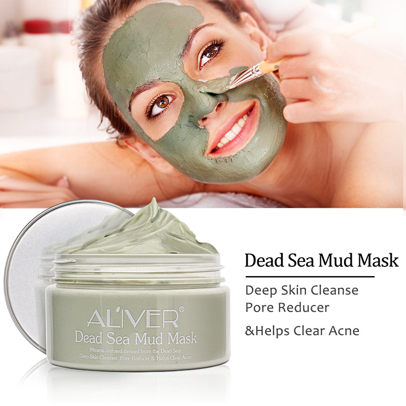Blackhead Remover Face Mask White Clay Mask Deep Cleansing The Blackhead Acne Treatments Mask T Zone Care Face Care 100g