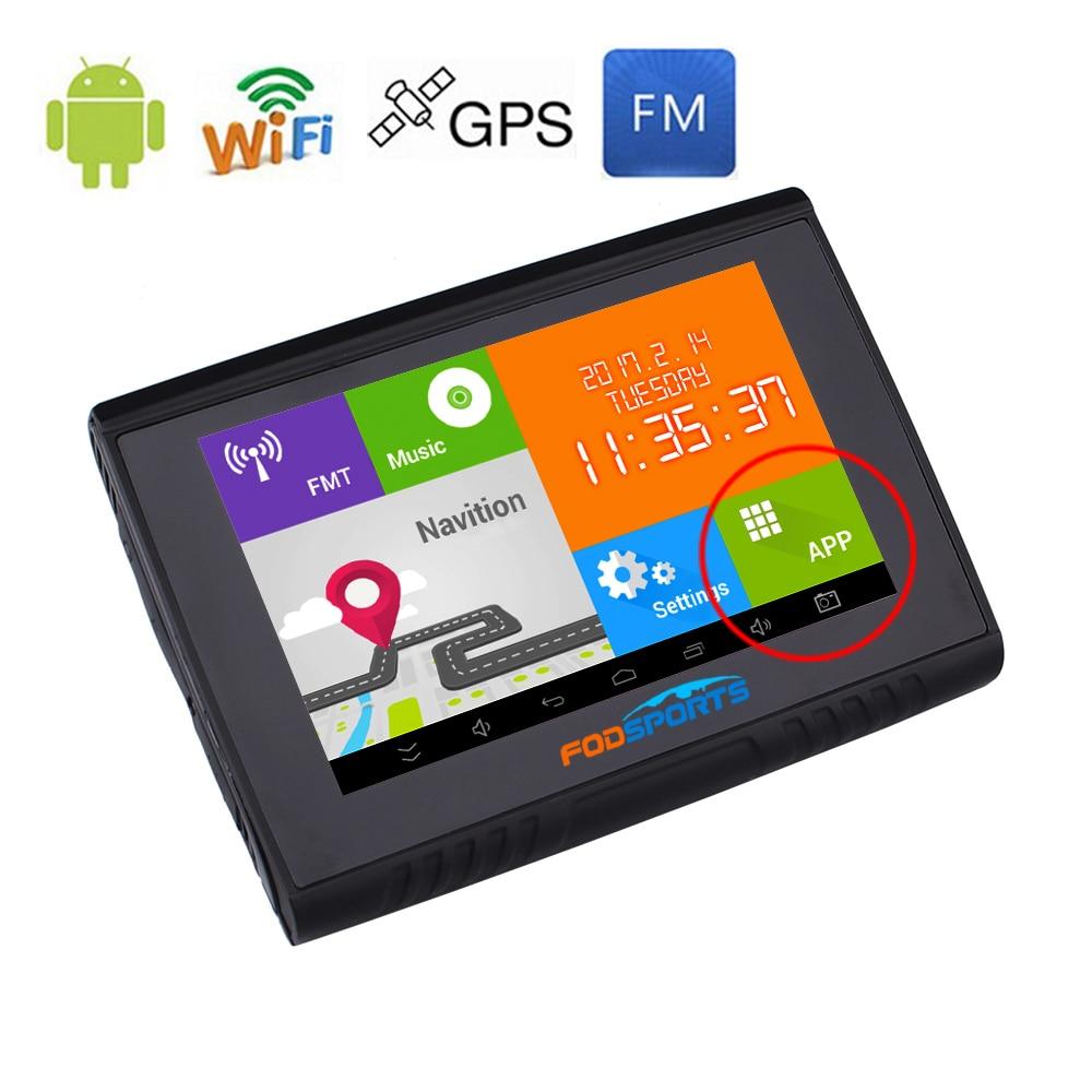 Fodsports 5.0 դյույմ Android Մոտոցիկլ - Ավտոմեքենաների էլեկտրոնիկա - Լուսանկար 4