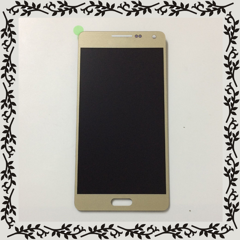 Gold For Samsung Galaxy A5 2015 A500 SM- A500F A500FU A500M A500H LCD Display Monitor + Touch Screen Digitizer Glass Assembly