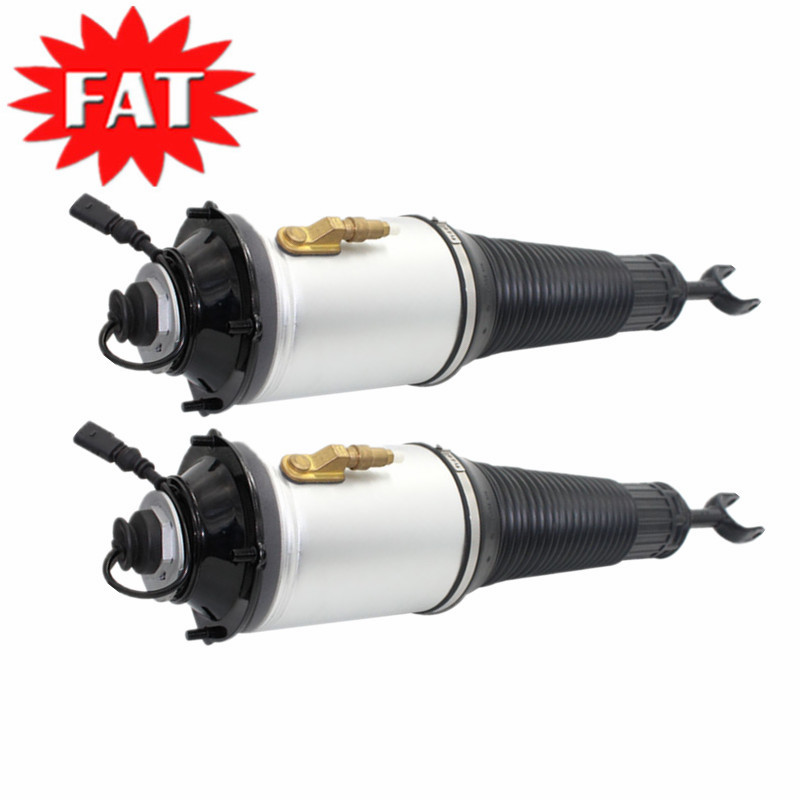 2 PCS/Pair Front Air Suspension Shock Absorber for <font><b>Audi</b></font> <font><b>A8</b></font> <font><b>4E</b></font> <font><b>D3</b></font> Pneumatic Suspension4E0616039AF 4E0616040AF 4E0616039 4E0616040 image
