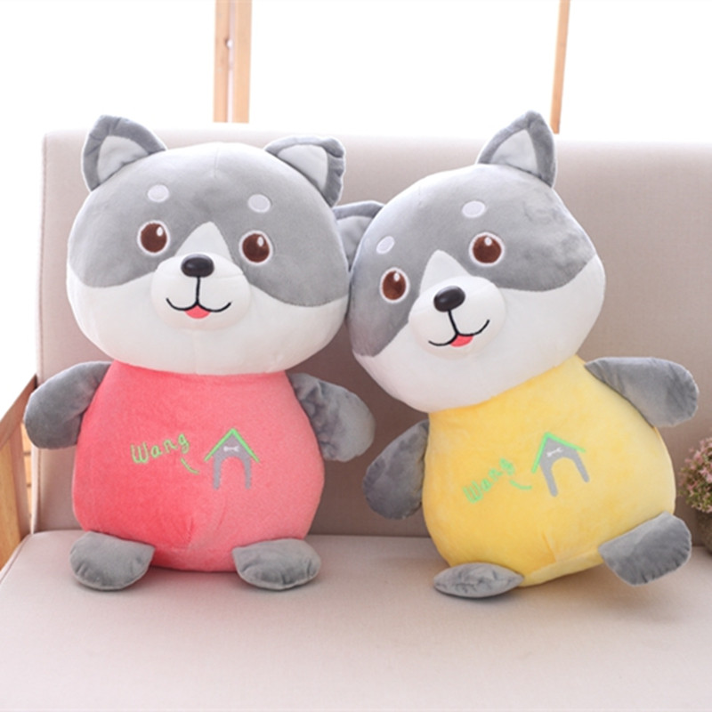 1pc 30cm Lovely Husky Plush Toy Staffed Soft Animal Dog Doll Kids Baby Kawaii Gift Toy Good Christmas Gift for Children Girls