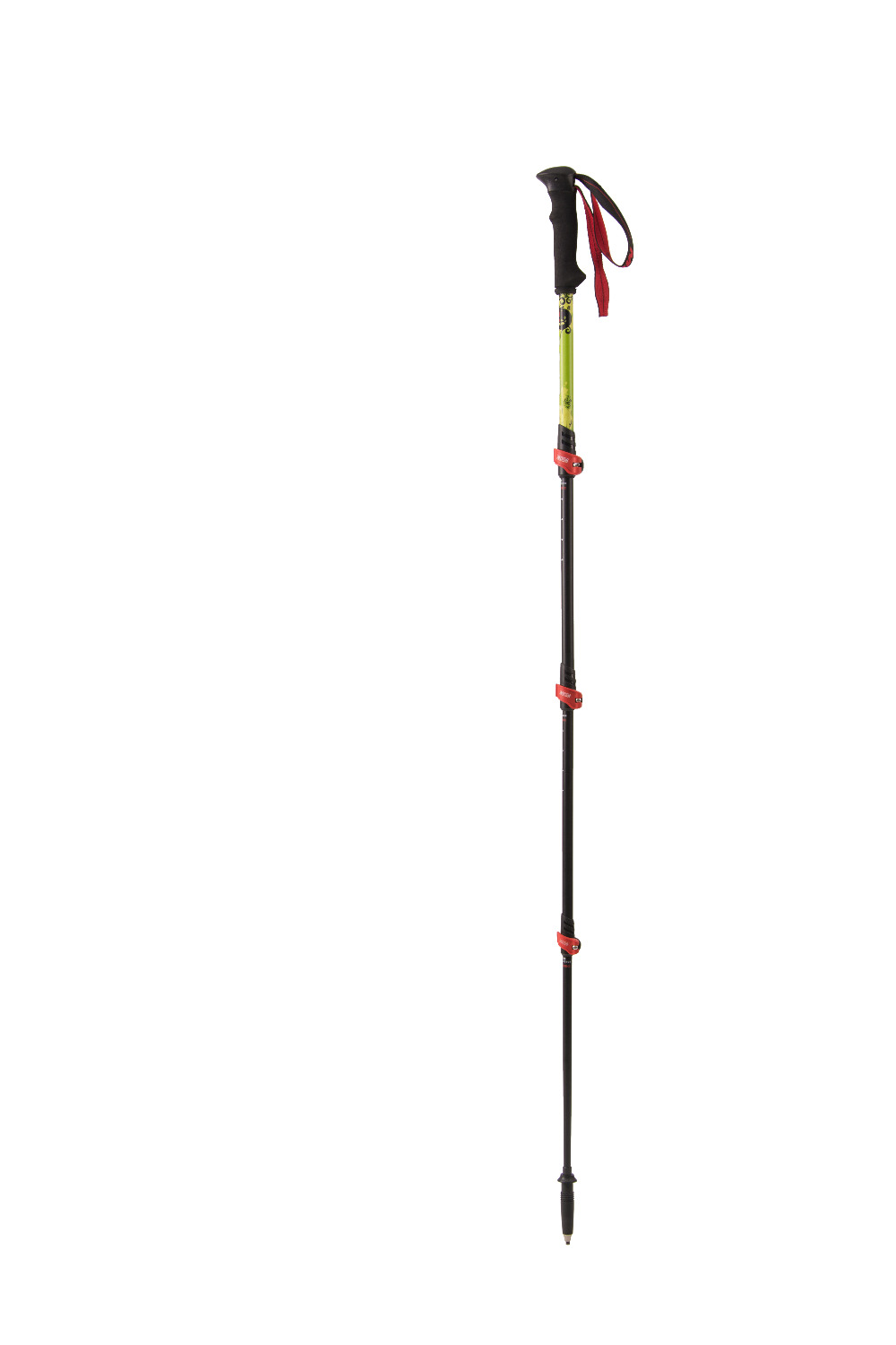 MBC M124Q Alpenstock Carbon Ultralight Outdoor Trekking  Equipment Fast and Robust Security Cane foldable ultralight aluminum alpenstock for mountaineering