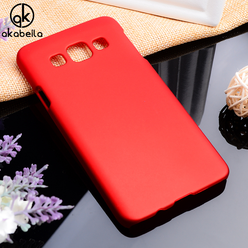 AKABEILA Phone <font><b>Cases</b></font> For <font><b>Samsung</b></font> Galaxy A5 2014 A500F A500FQ <font><b>A500FU</b></font> A500HQ A500YZ A500M A500Y Matte Plastic Bag Cover Housing image
