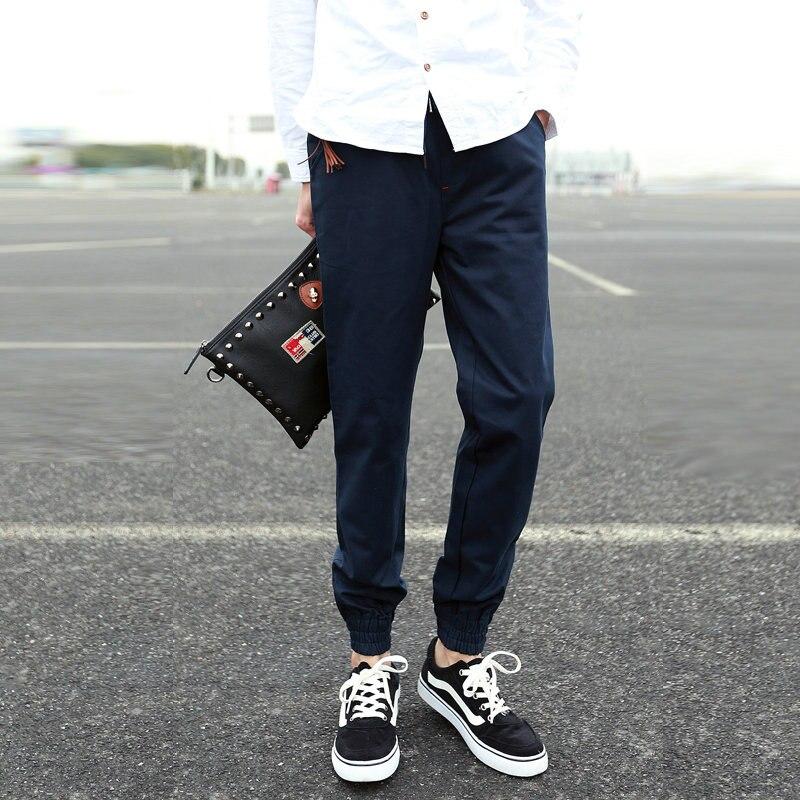 2015 Top Fashion Limited Mid Pants Spring Harvest Feet Slacks Male Taxi Fertilizer Bundle Pants Japanese Pantyhose Harem