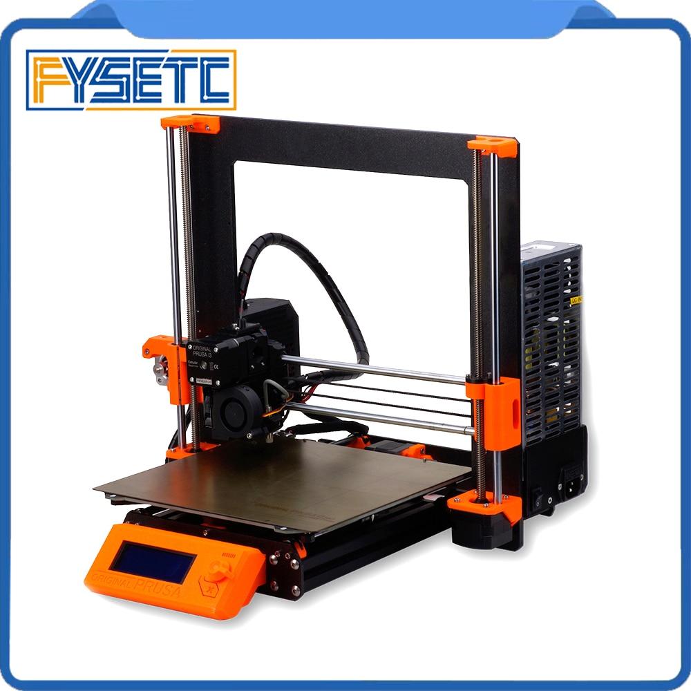 Clon Prusa i3 MK3S Kit completo de impresora Prusa i3 MK3 a MK3S Kit de actualización incluyendo Placa de einsty-rambo 3D impresora DIY MK2.5/MK3/MK3S