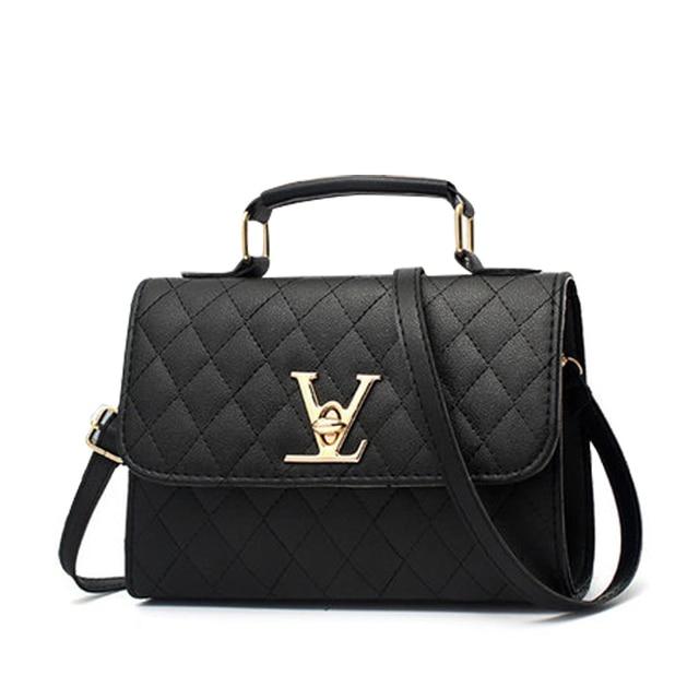 59edb752757c Famous Brands Messenger Bags Designer 2018 Fashion Woman Geometry Small V  Style Saddle Luxury Handbags Crossbody