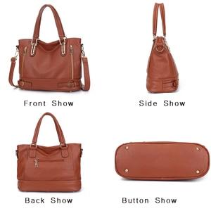 Image 4 - 2020 New Leather Womens Handbag Luxury Women Shoulder Bags Designer Female Crossbody Messenger Bag Lady
