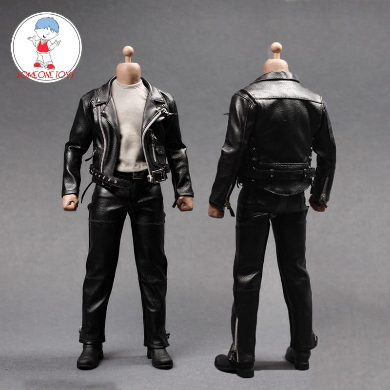 1/6 스케일 남성 정장 가죽 트렌치 코트 조끼 셔츠 바지 세트 12 인치 액션 피규어 인형 액세서리 의류 모델-에서액션 & 장난감 숫자부터 완구 & 취미 의  그룹 1