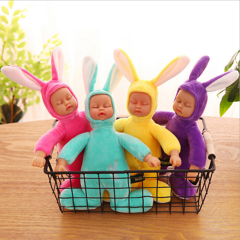 Plush Stuffed Toys for Children Kawaii Soft 4 Colors Rabbit  Best Birthday Gifts for Friends Doll Reborn brinquedos accompany 5pcs lot pikachu plush toys 14cm pokemon go pikachu plush toy doll soft stuffed animals toys brinquedos gifts for kids children