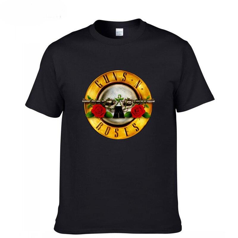 Hot Sale New Guns And Roses Guns N Roses Hard Rock Band Mens Black