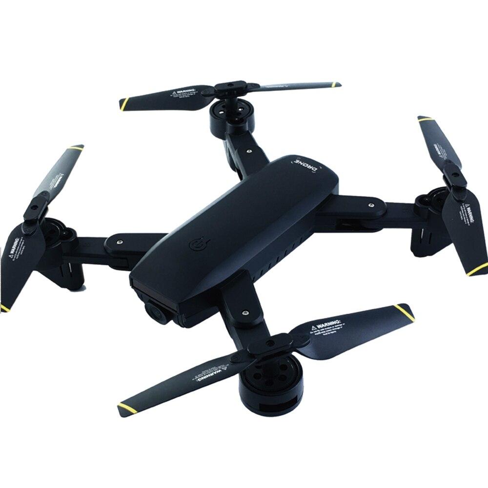 Складной wifi приложение пульт дистанционного управления Дрон с Full HD камерой 120 широкоугольный 4CH дроны Professional 360 флип RC вертолет
