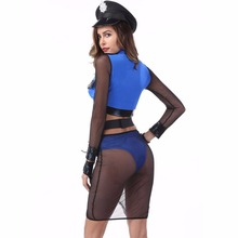 Sexy Police Costume for Women Halloween Carnival Cosplay Cop Costume Night Club Police Women Sexy Outfit Fancy Party Dress New