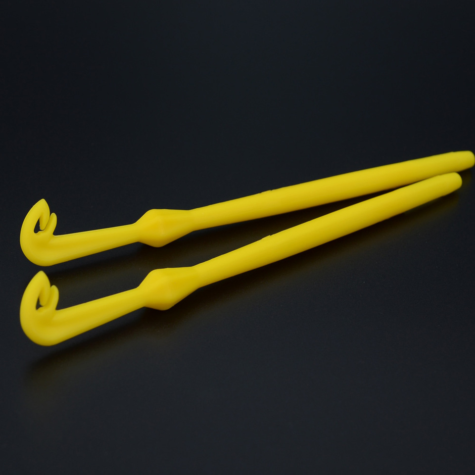 2xHook Loop Tyer//Disgorger Tie Nail Knot Tying Tool Tackle Fly Fishing Hooksji