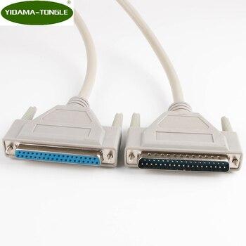 Câble dextension DB37 mâle à femelle de 37 broches DB37