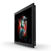 Flexible transparent 22 inch touchscreen lcd monitor for arcade kiosk slot gaming
