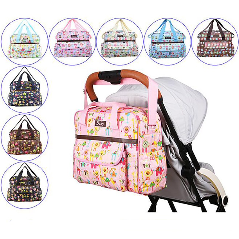 Mommy Diaper Bag Waterproof Baby Nursing Maternity Bag Handbag For Mom Large Capacity Nappy Bags For Stroller Organizer