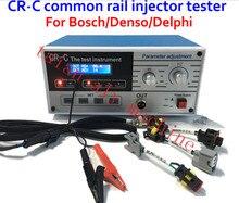 Продажа завода быстрый Бесплатный доставка CR-C Дизель форсунок Common rail tester, тестер CR инжектора для бо-сч/дель-phi/denso