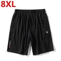 Plus size 8XL 6XL 5XL Summer Shorts Men Boardshorts Breathable Male Casual Shorts Comfortable Fitness Mens Bodybuilding Shorts