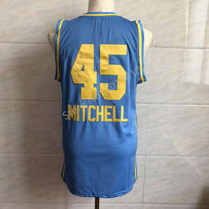 153eba81b3f6 Mitchell All Star Team USA Throwback basketball jersey all size Embroidery  Stitched