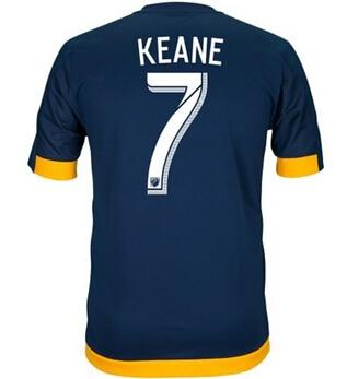 798bfe351 15 16 los angeles la galaxy soccer jersey 8 steven gerrard david beckham  football shirt landon donovan gonzalez keane juninho in 15 16 los angeles  la galaxy ...