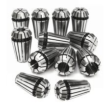 12pcs/set Precision ER16 Spring Collets Set Carbon Steel Spring Collet Chuck For CNC Lathe Engraving Milling Machine