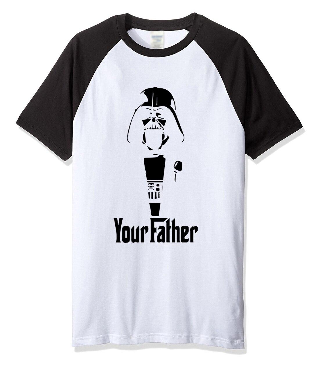 2017 summer T shirt for men Yoda Darth Vader cartoon pattern font b men s b