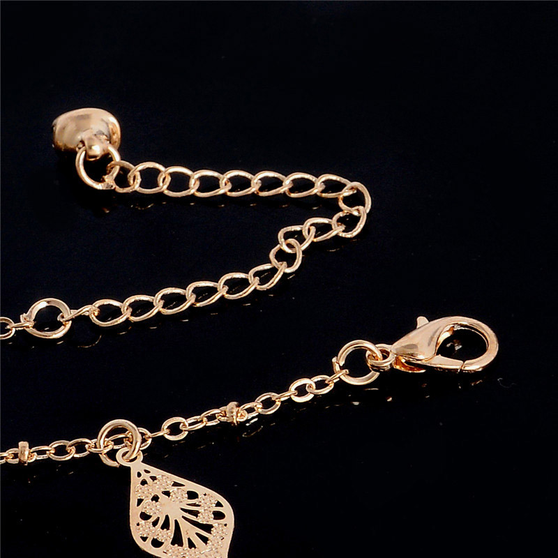 HTB169JKLpXXXXchXpXXq6xXFXXXO Golden Foot Chain Jewelry Spirituality Ankle Bracelet For Women - 5 Styles