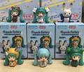 Fabricante 50 Unidades ( 6 unids/set ) Japana de anime versión Q Hatsune Miku figura pvc juguete de altura 4 cm en caja vía DHl / EMS