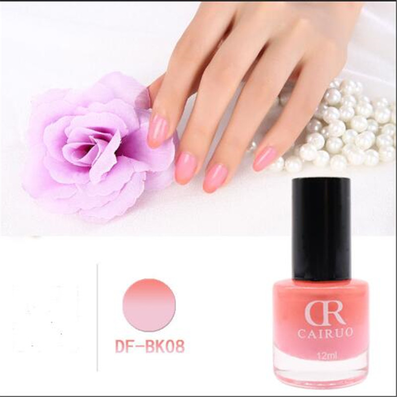 12ML Durable Healthy and Non Toxic Nailpolish Color Change Nail ...