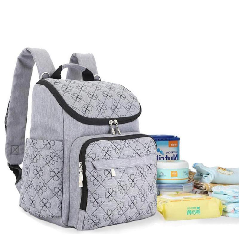 купить Diaper Bag Fashion Mummy Maternity Nappy Bag Brand Baby Travel Backpack Diaper Organizer Nursing Bag For Baby Stroller A5