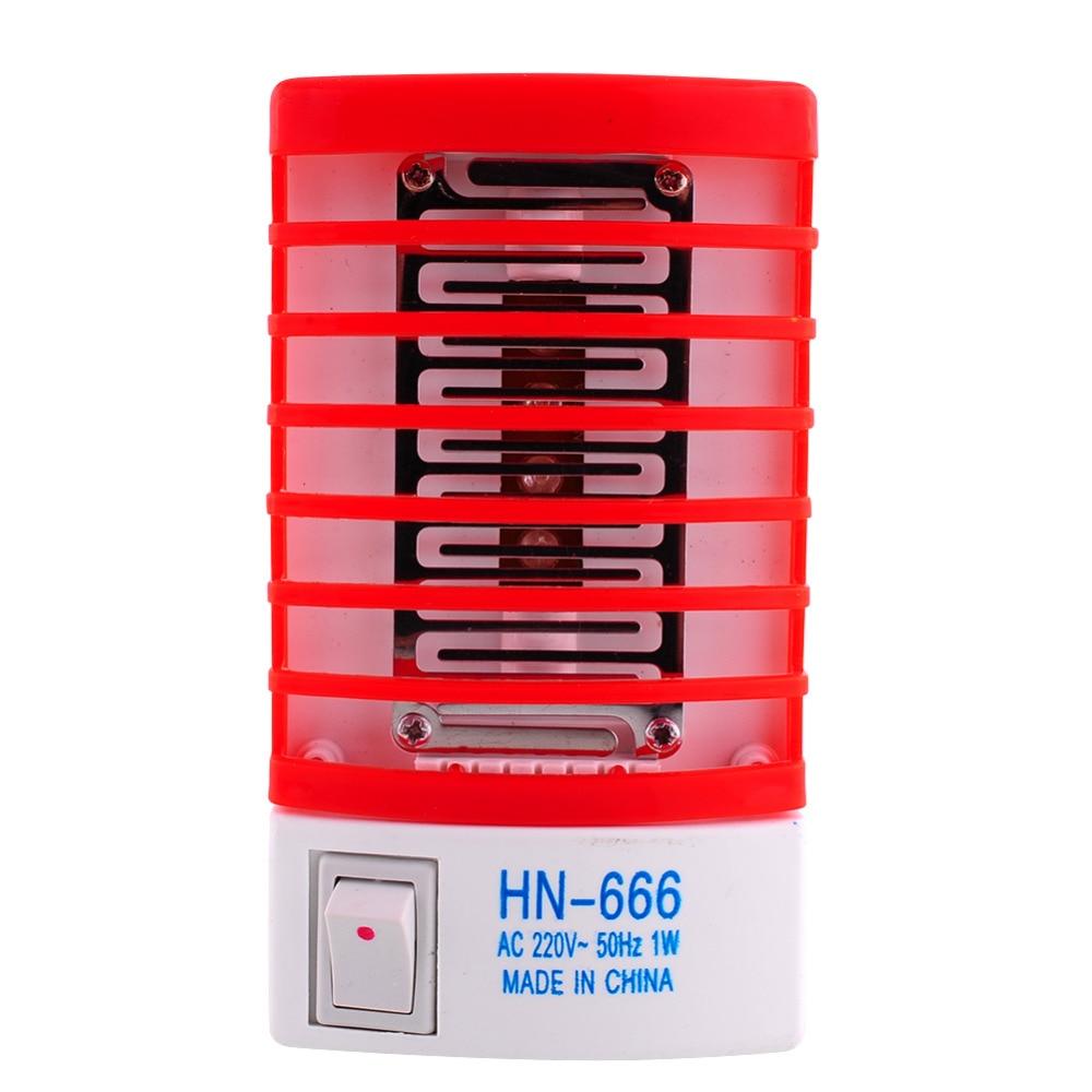 220V 1W мини LED сензор нощна лампа - Градински принадлежности - Снимка 2