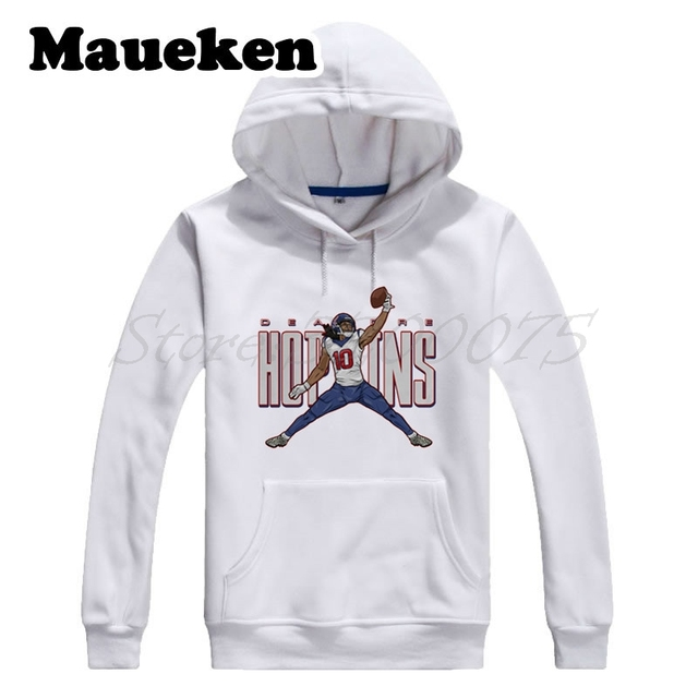Men Hoodies Nuk 10 Deandre Hopkins Logo Jordan Sweatshirts Hooded