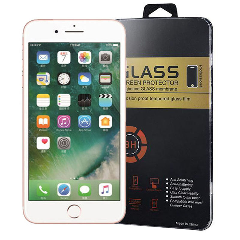 0 26mm 2 5D For iphone 7 7 plus Tempered Glass For iphone 5s se Glass