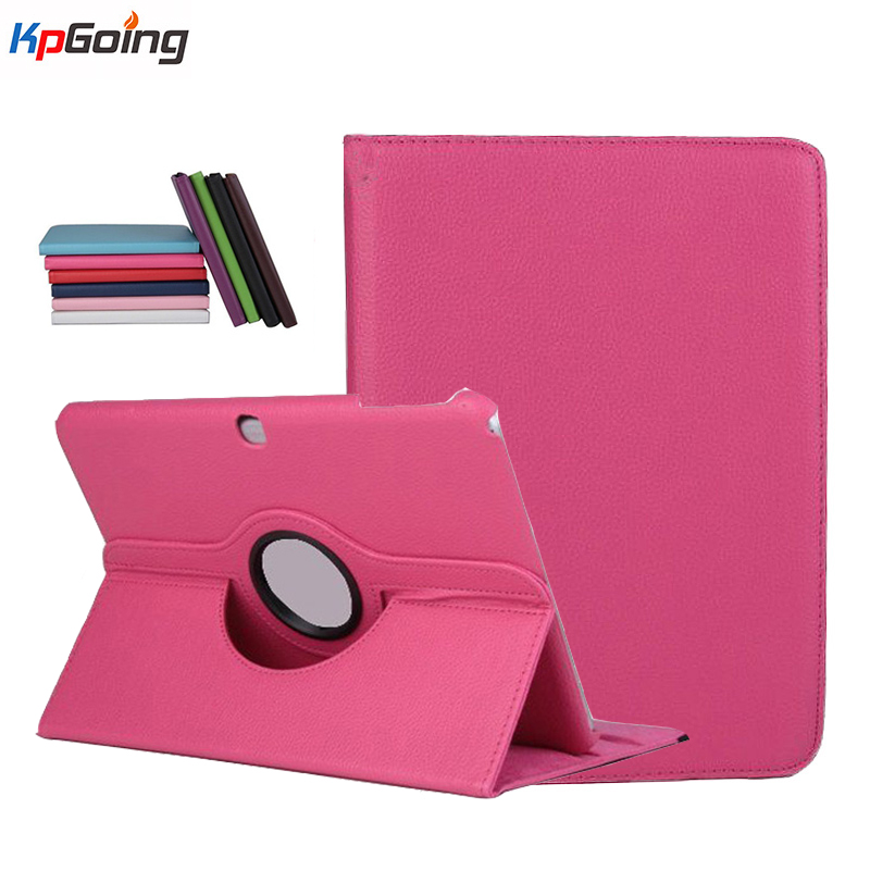 For Samsung Galaxy Tab 4 10.1 T530 Tablet PU Leather Case Cover Rotating Stand Flip Shell/case for Samsung Tab 4 10.1 T530 crocodile pattern luxury pu leather case for samsung galaxy tab 4 8 0 t330 flip stand cover for samsung tab 4 8 0 t330 sm t330
