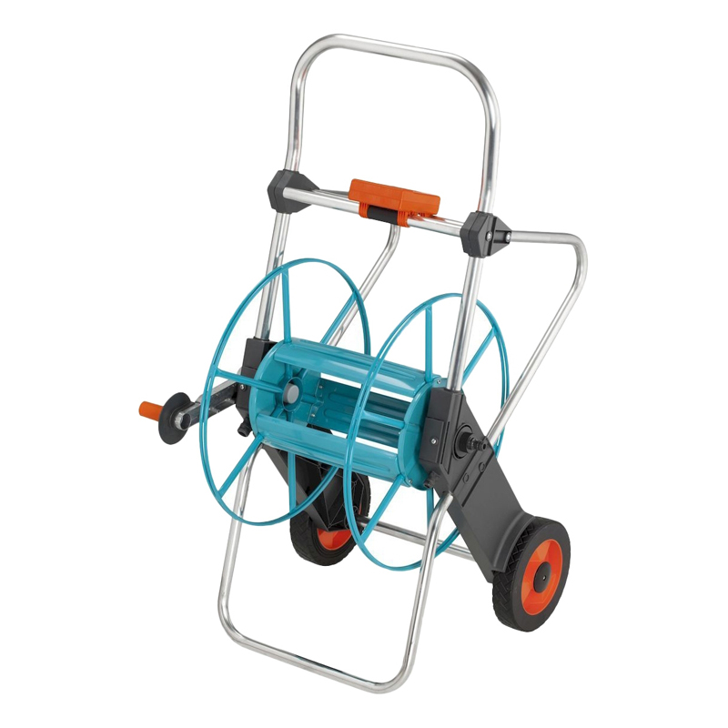 Hose reel GARDENA 02674-20.000.00 (Maximum length of hose trolley 25mm-25 m articulated axle protection