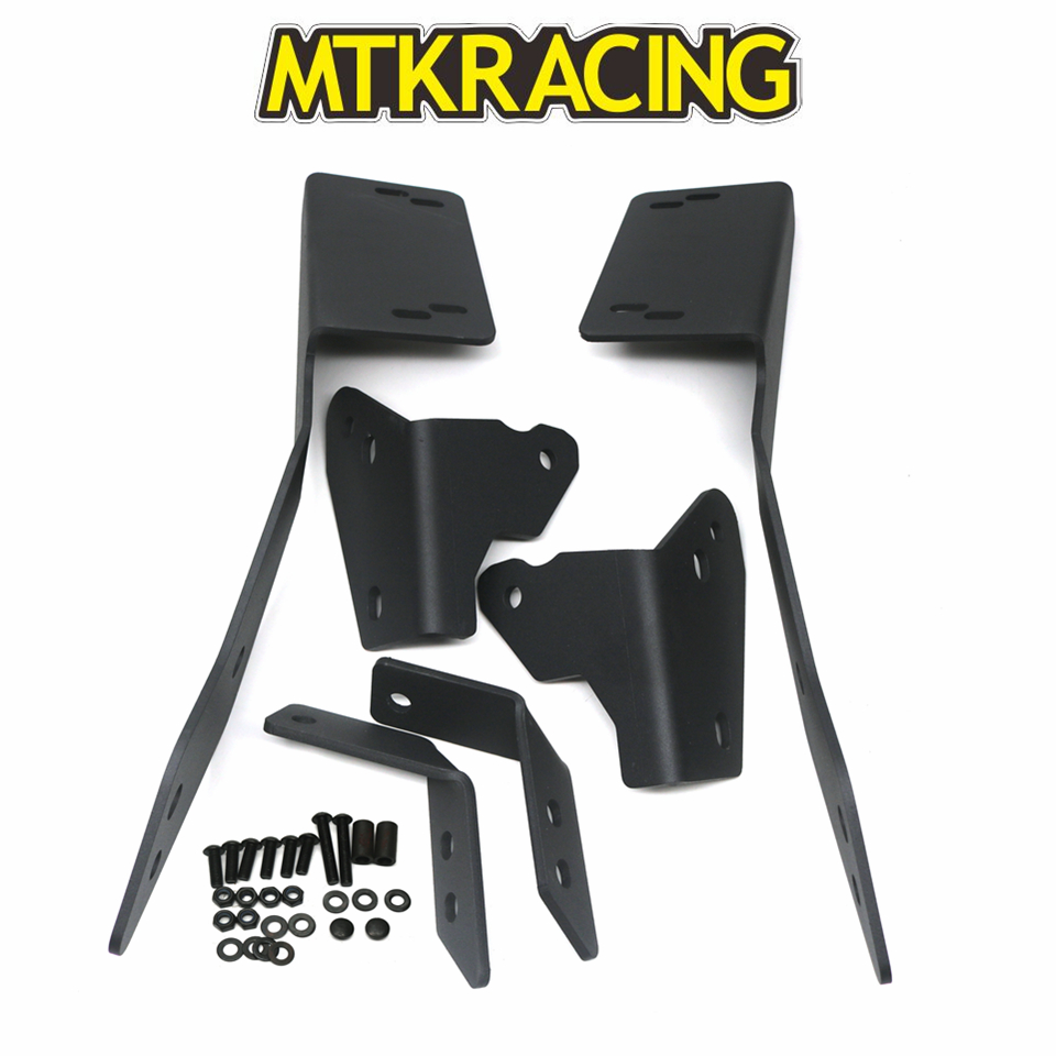 MTKRACING Motorcycle Accessories For HONDA XADV X ADV 300 750 1000 X ADV 2017 2019 Rear Carrier Luggage Rack in Covers Ornamental Mouldings from Automobiles Motorcycles