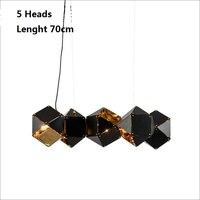 Modern Hanglamp Art Welles Designer Pendant Lamps For Living Room Black Copper Abajur lampe Dinning Room Lights Nordic Creative
