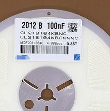 Freies Verschiffen 4000 teile/los 0805 100nF 0,1 UF 0.1MF 104K CL21B104KBCNNNC 0805 50V 100NF 10% X7R neue und original Sicherung