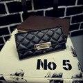 2016 New Women Wallets Long design  Hasp soft PU Leather purse Famous brand Women wallet Clutch Money Holder bags