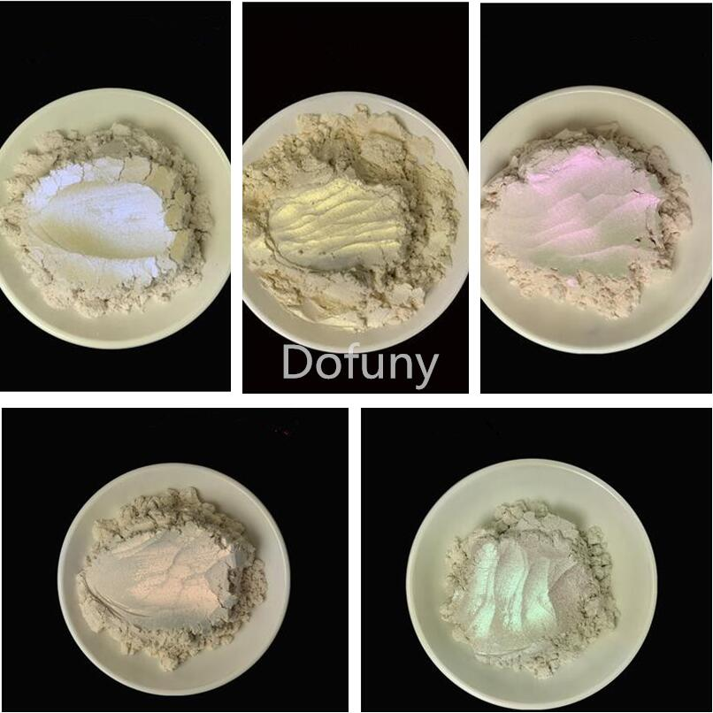 500g/lot  Pearlescent Pigment White Symphony Powder For Make UP Eyeshadow Car Paint  Soap Dye  Pigment Mica Powder