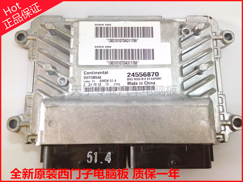 Automotive Engine Computer Board 5WY5B54A / B / C / D / E / F / 24556870