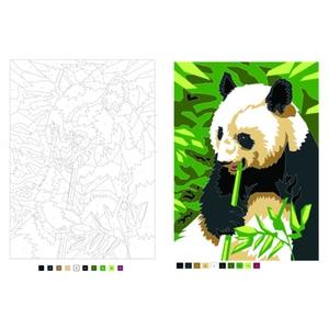 Image 3 - 성인을위한 디지털 그림 색칠하기 책 어린이 스트레스를 완화 비밀 정원 색칠하기 책 낙서 그림 그리기 책
