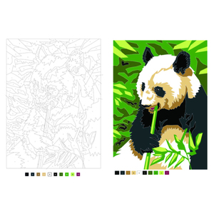 Image 3 - Digital Painting colouring books For Adults Children Relieve Stress Secret Garden Coloring Book Graffiti Painting Drawing book