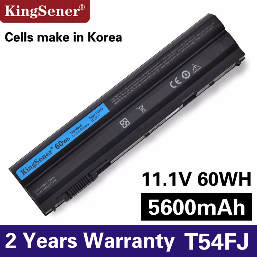 KingSener T54FJ 60Wh New Laptop Battery for DELL Latitude E5420 E5430 E5520 E5530 E6420 E6430 E6520 E6530 For Inspiron 7420 7520 цены онлайн