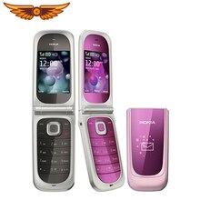Nokia 7020 разблокированный 2,2 дюймов Bluetooth 2MP камера с английской клавиатурой отремонтированный мобильный телефон