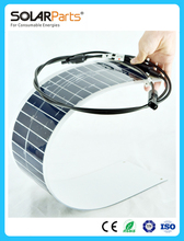 Factory direct 18W flexible back contact solar panels solar modules